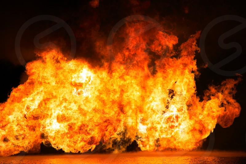 wall of fire photo