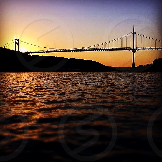 St Johns Bridge Portland Oregon photo