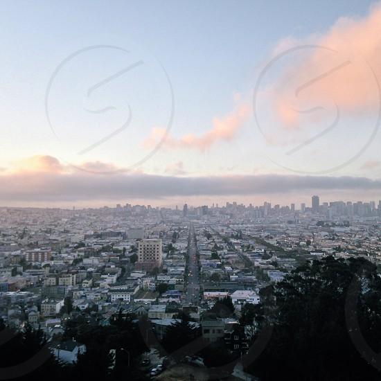 city top view photo