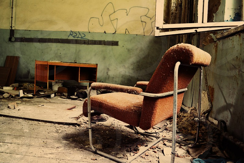 brown chair Bernau Germany photo