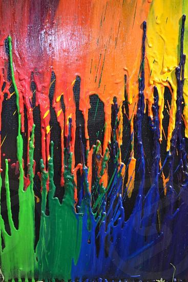 Melted Crayola Series photo