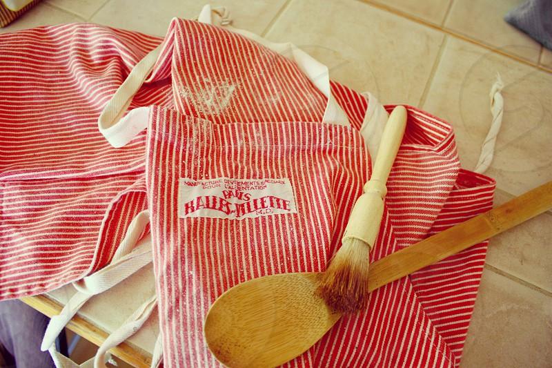 Apron kitchen cooking moms nostalgia  photo