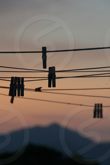black cable wire photo