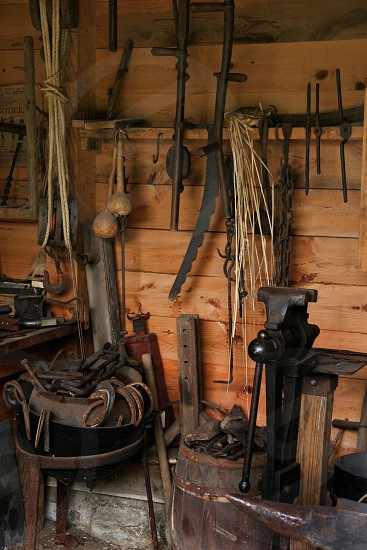 Blacksmith shop in South Park PA photo