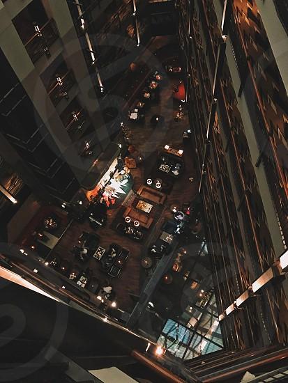 Hotel interior architecture  photo