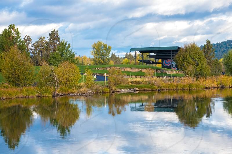 Les Schwab amphitheater river Oregon bend Deschutes concert venue photo