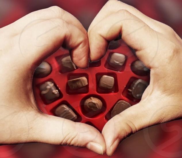 Assorted chocolate 😋 photo