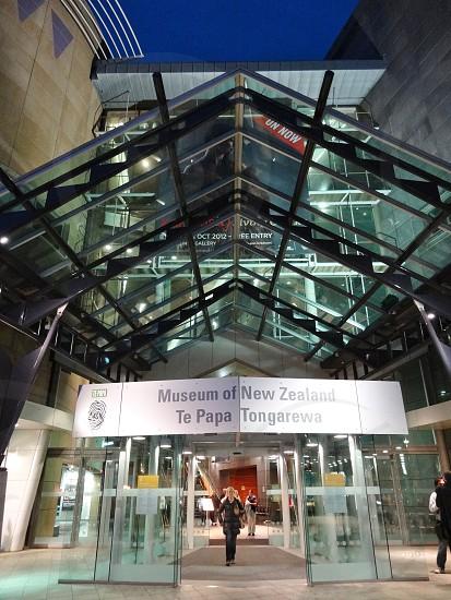 Museum of New Zealand Te Papa Tongarewa - Wellington New Zealand photo