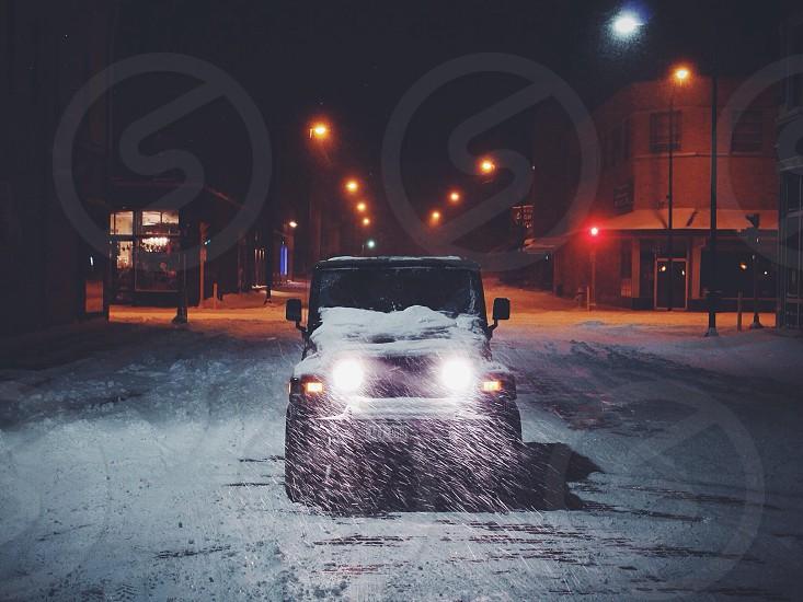 black jeep wrangler photo