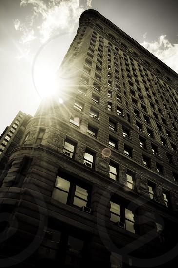 gray multi story building photo