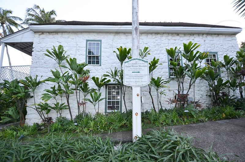 Bailey House Museum entrance Maui Hawaii Hawaiian antiquities collection missionary plantation era artifacts historical society photo