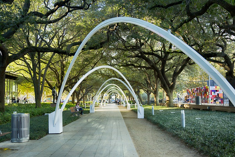 Discovery Green in Houston Texas photo