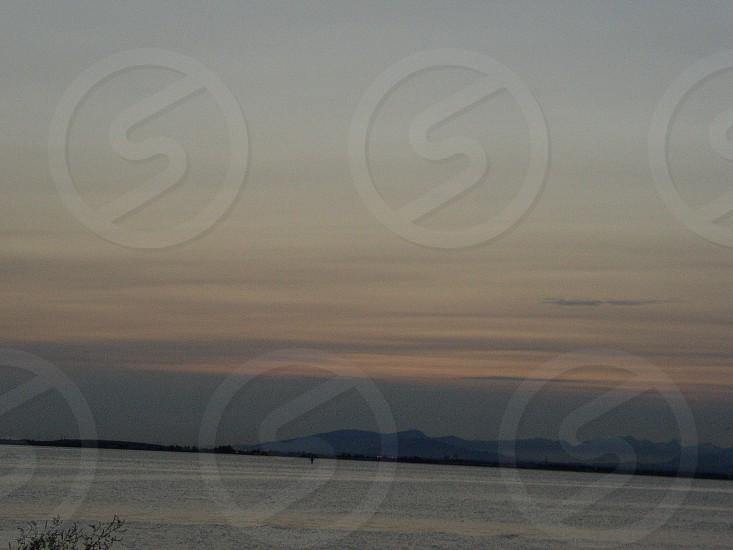 Shades of Sunset - White Rock BC Canada photo