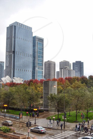 Fountains of Millennium Park - Chicago IL photo