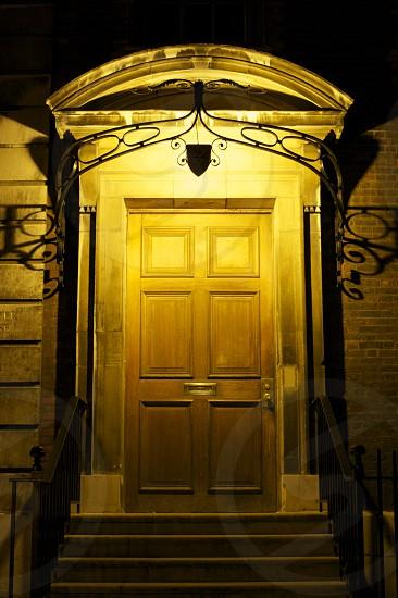Doorway near St.Paul's in City of London photo