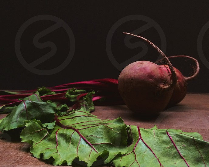 Beets chasing light photo