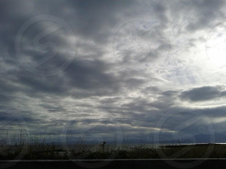 Scottish summer skies photo