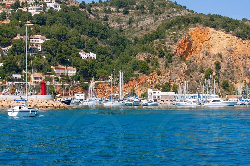 Javea Xabia port marina good vacation destination in Alicante Spain photo