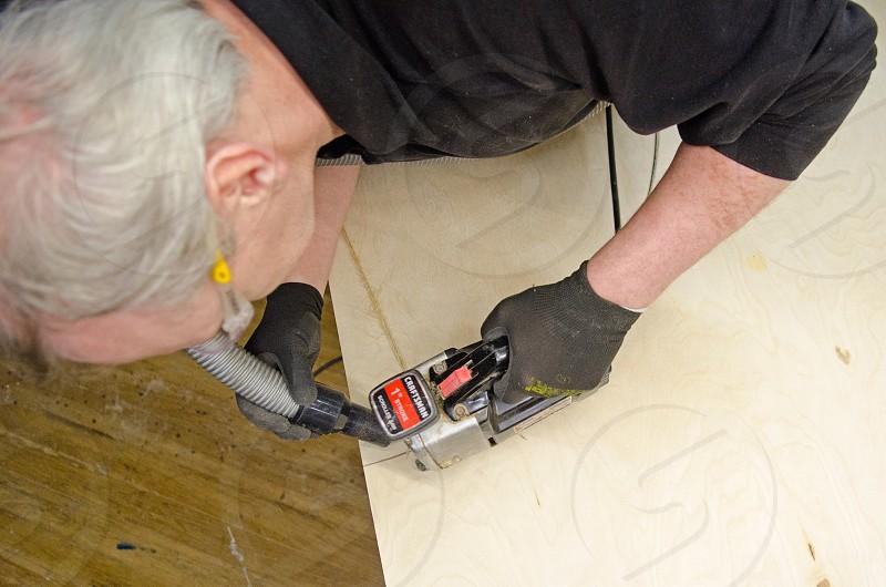 man working photo