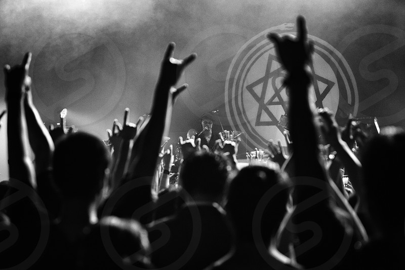 Concert music live show live  live house moody moodpogo people crowd rock n' roll emotions power energy light black and white peace love photo