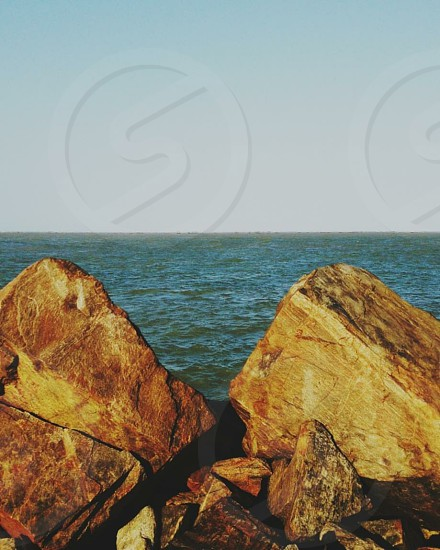 Sea Rocks pedra  photo