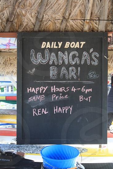 daily boat wanga's bar photo