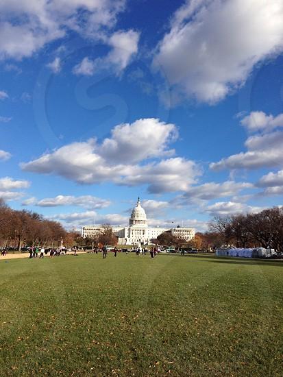 white house view photo