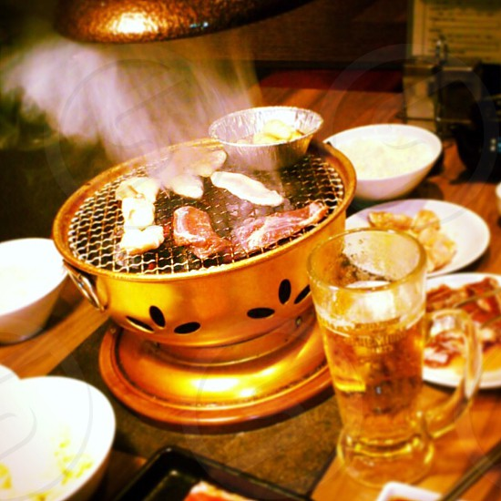 indoor barbecue grill photo