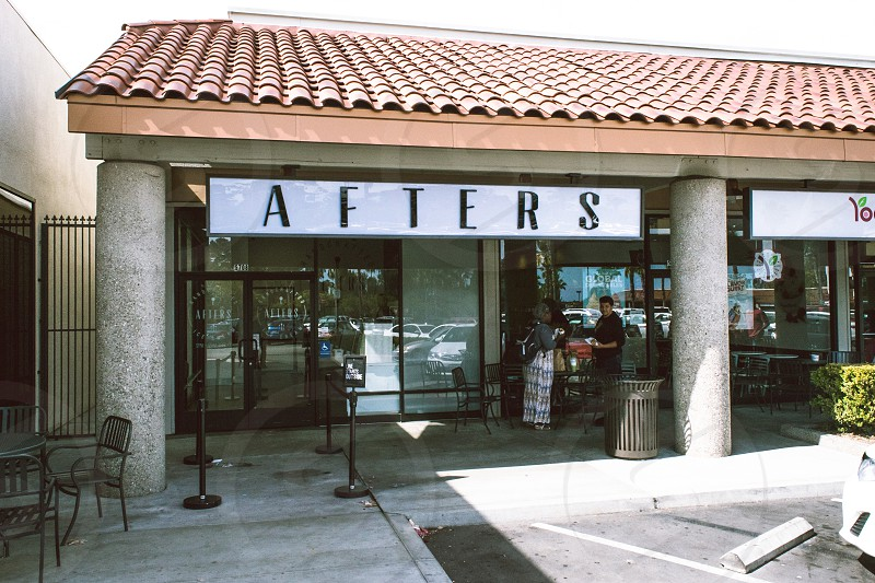 empty afters store during daytime photo