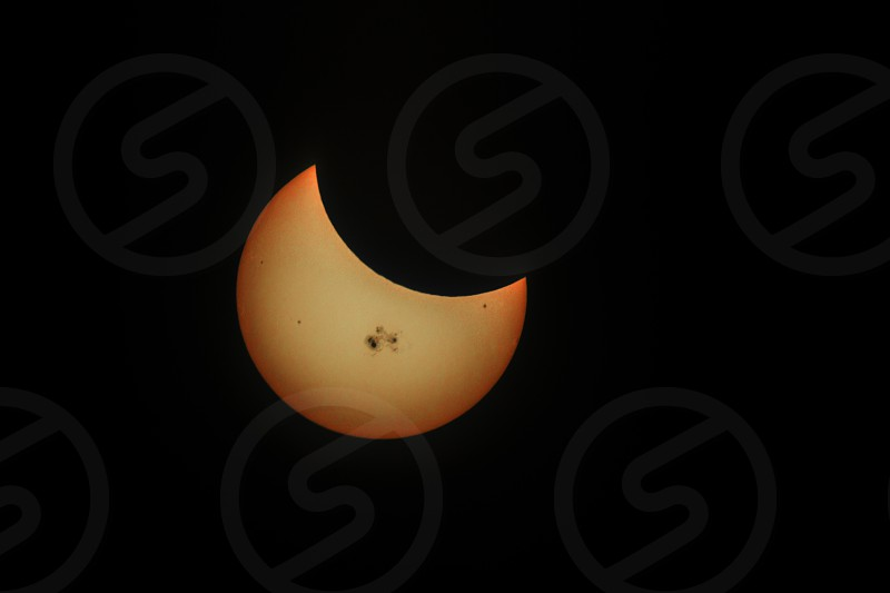Partial Solar Eclipse 2014 photo