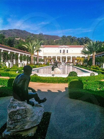 Getty villa in California photo