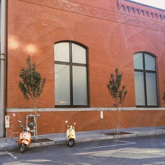 Portland OR streets.  photo