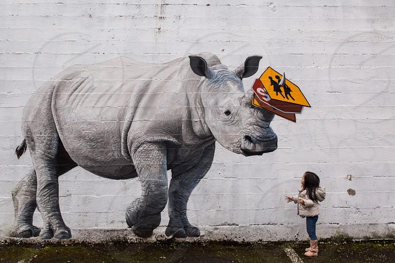 kid rhino portland oregon wanderlust travel cute  portrait children art photo