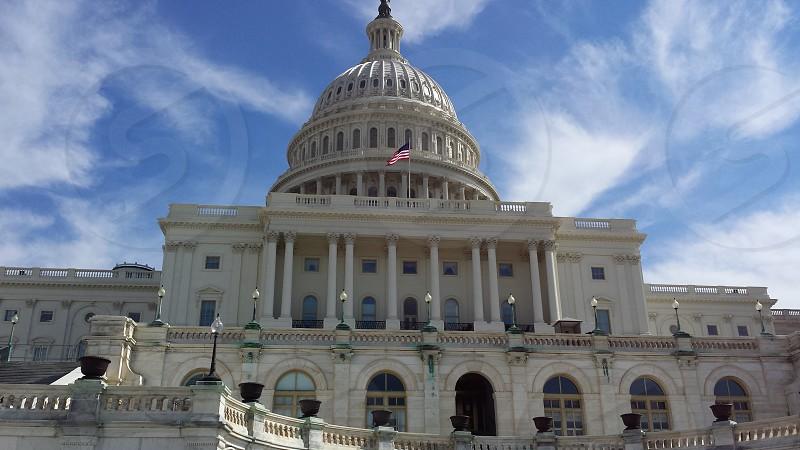 Capital Washington D.C. government building architecture photo