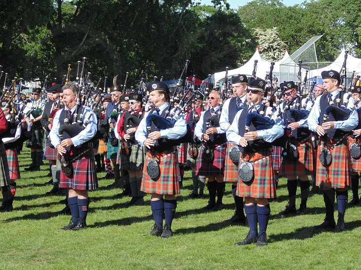 Pipes forever ..........Victoria Highland Games 2014 photo