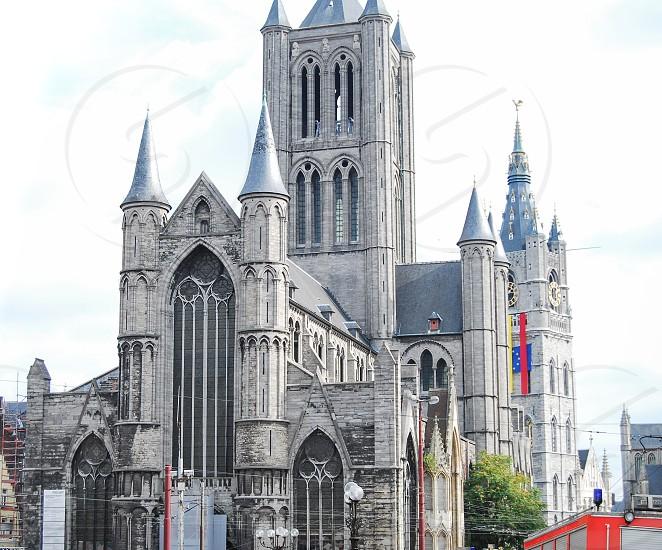 Saint Nicholas Church Ghent Belgium photo