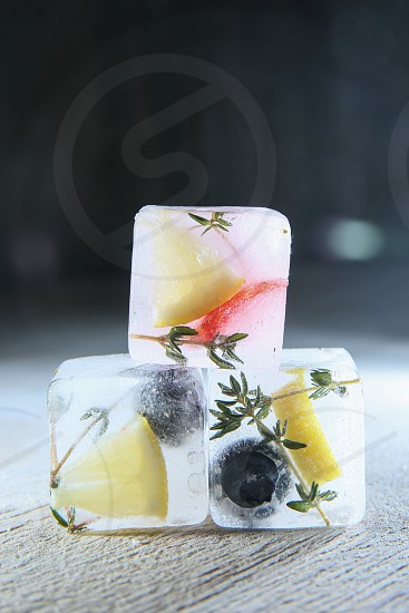 fresh ice clean eats healthy refreshing summer fruit photo