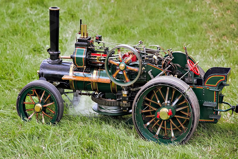 Toy Traction Engine at Rudwick Steam Fair photo