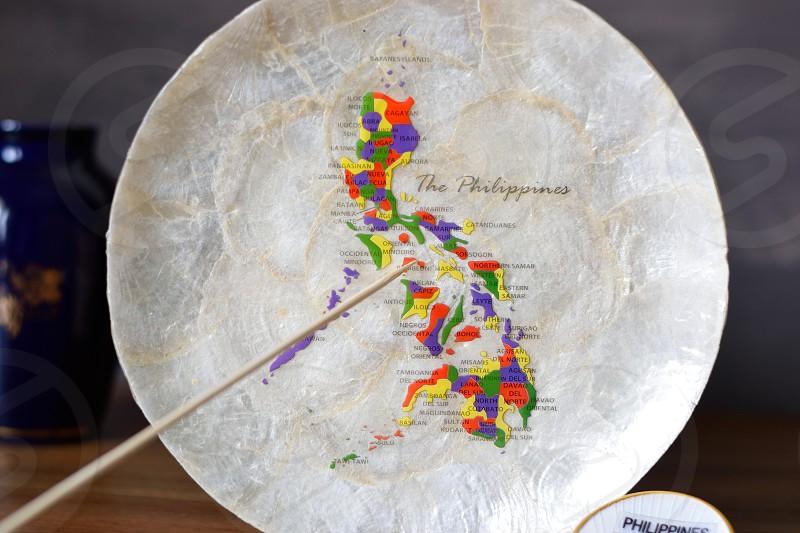 Philippines map photo