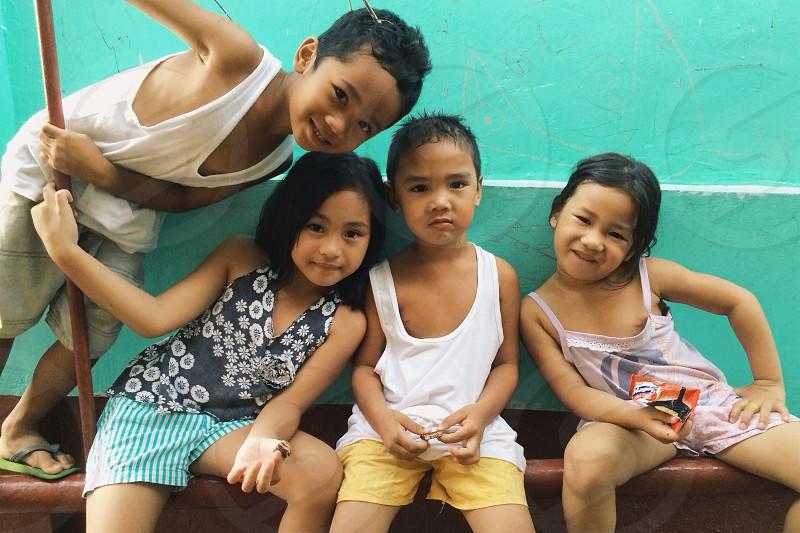 Kids will be kids. photo
