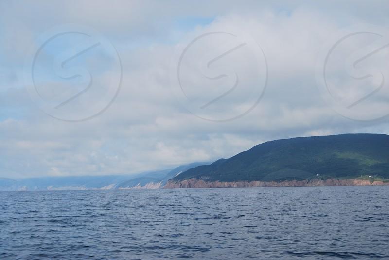Islands in Cape Breton Nova Scotia  photo