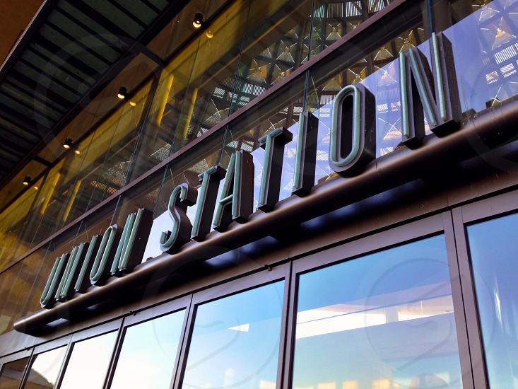 Los Angeles Union Station Entrance - Los Angeles CA photo