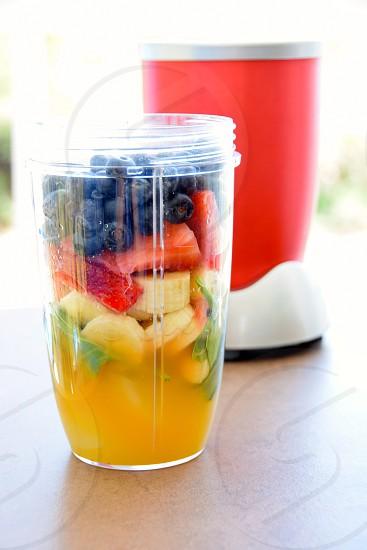 Fruit & Veggie smoothie photo