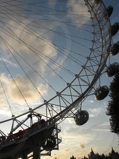 The London Eye.  photo