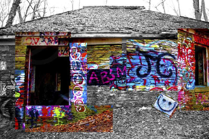 Abandoned Pump House Glen Portsmouth RI Hocknoid photo