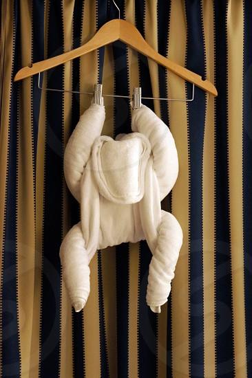 Towel monkey photo