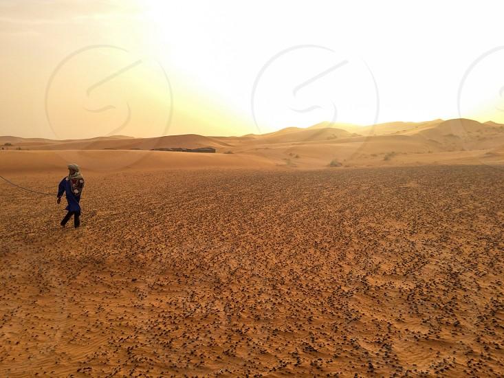 Sahara; sunset; travel photo