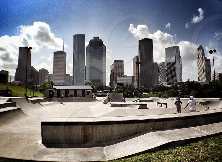 Houston Skyline photo