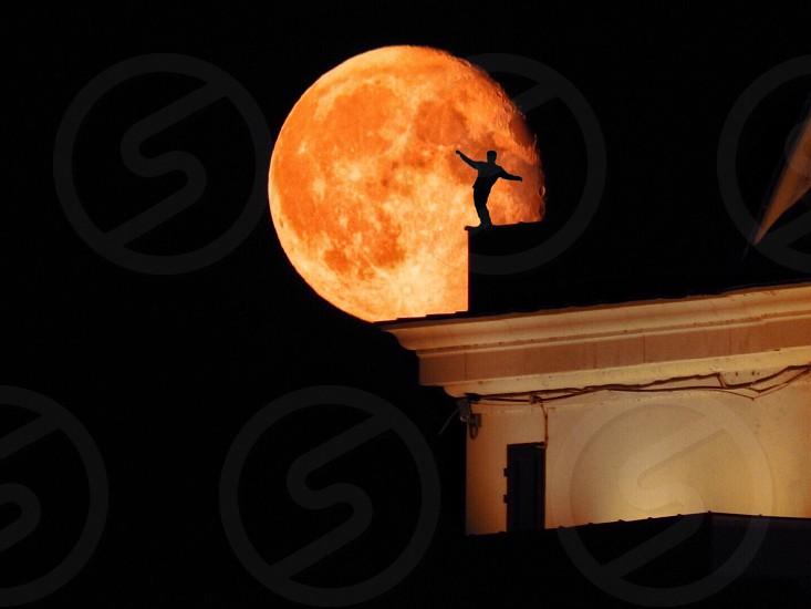 big Moon night photo