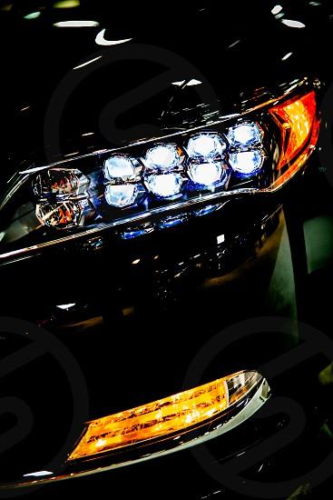 car headlights photo